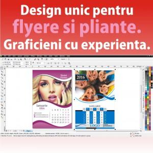 Design modele flyere pliante ieftine Cluj Napoca