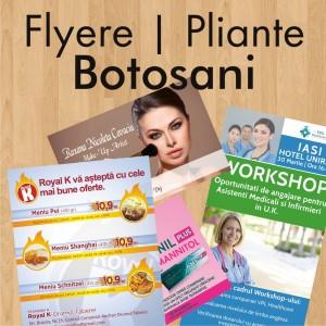 Flyere ieftine pliante Botosani