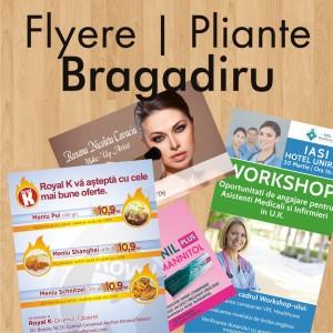 Flyere ieftine pliante Bragadiru