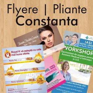 Flyere ieftine pliante Constanta