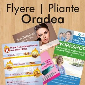 Flyere ieftine pliante Oradea