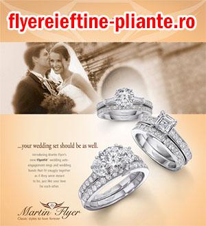 flyere pliante bijuterii, magazin online lux