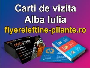Carti de vizita Alba Iulia-www.flyereieftine-pliante.ro