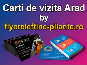 Carti de vizita Arad-www.flyereieftine-pliante.ro