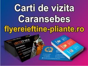 Carti de vizita Caransebes-flyereieftine-pliante.ro