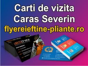 Carti de vizita Caras Severin-flyereieftine-pliante.ro