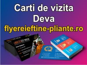 Carti de vizita Deva-flyereieftine-pliante.ro
