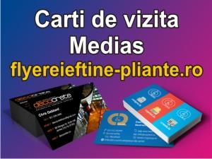 Carti de vizita Medias-flyereieftine-pliante.ro
