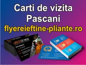 Carti de vizita Pascani-flyereieftine-pliante.ro