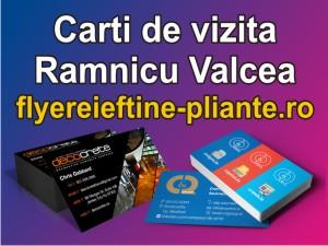 Carti de vizita Ramnicu Valcea-flyereieftine-pliante.ro