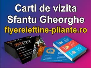 Carti de vizita Sfantu Gheorghe-flyereieftine-pliante.ro