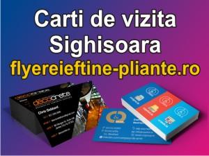 Carti de vizita Sighisoara-flyereieftine-pliante.ro