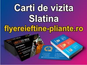 Carti de vizita Slatina-flyereieftine-pliante.ro