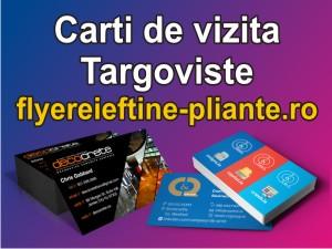 Carti de vizita Targoviste-flyereieftine-pliante.ro