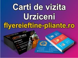 Carti de vizita Urziceni-flyereieftine-pliante.ro