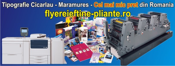 Tipografii-Tipografie Cicarlau - Maramures 2006