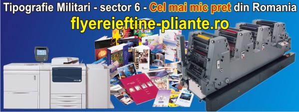 Tipografii-Tipografie Militari - sector 6